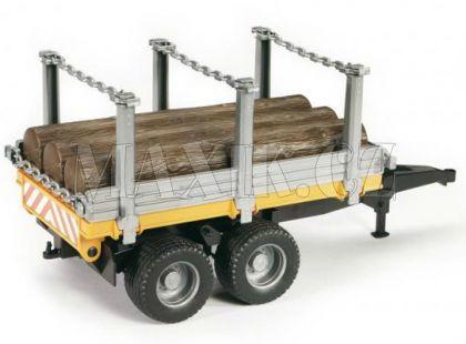 Bruder 02213 Přívěs na dřevo