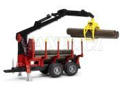Bruder 02252 Přepravník na dřevo s rukou