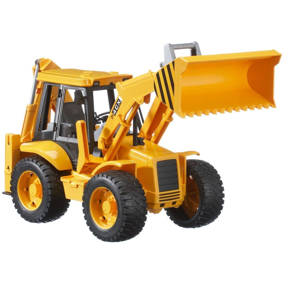 Bruder 02428 Traktor JCB - čelní nakladač + bagr