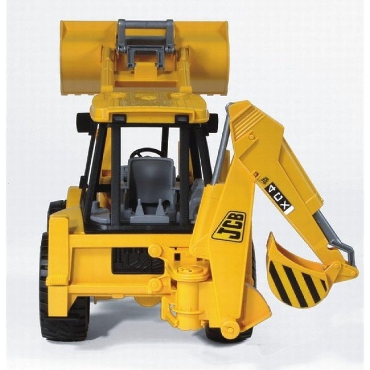 Bruder 02428 Traktor JCB - čelní nakladač + bagr #2