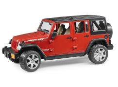 Bruder 02525 Jeep Wrangler Unlimited Rubicon Červená