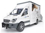 Bruder 02533 Mercedes Benz Sprinter přepravník s koněm