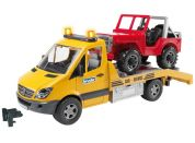 Bruder 02535 Mercedes Benz Sprinter odtah Jeep
