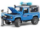 Bruder 02597 Policejní Land Rover Defender s policistou 4