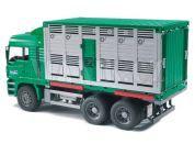 Bruder 02749 Nákladní auto MAN kontejner na zvířata