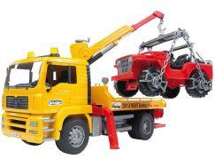 Bruder 02750 Odtahová služba MAN + Jeep