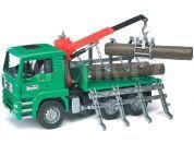 Bruder 02769 Nákladní auto MAN přepravník dřeva
