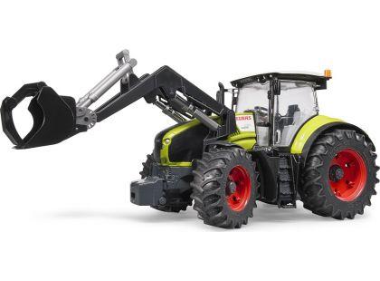 Bruder 03013 Traktor Claas Axion 950 s pření lžicí