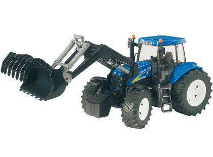 Bruder 03021 Traktor New Holland s čelním nakladačem