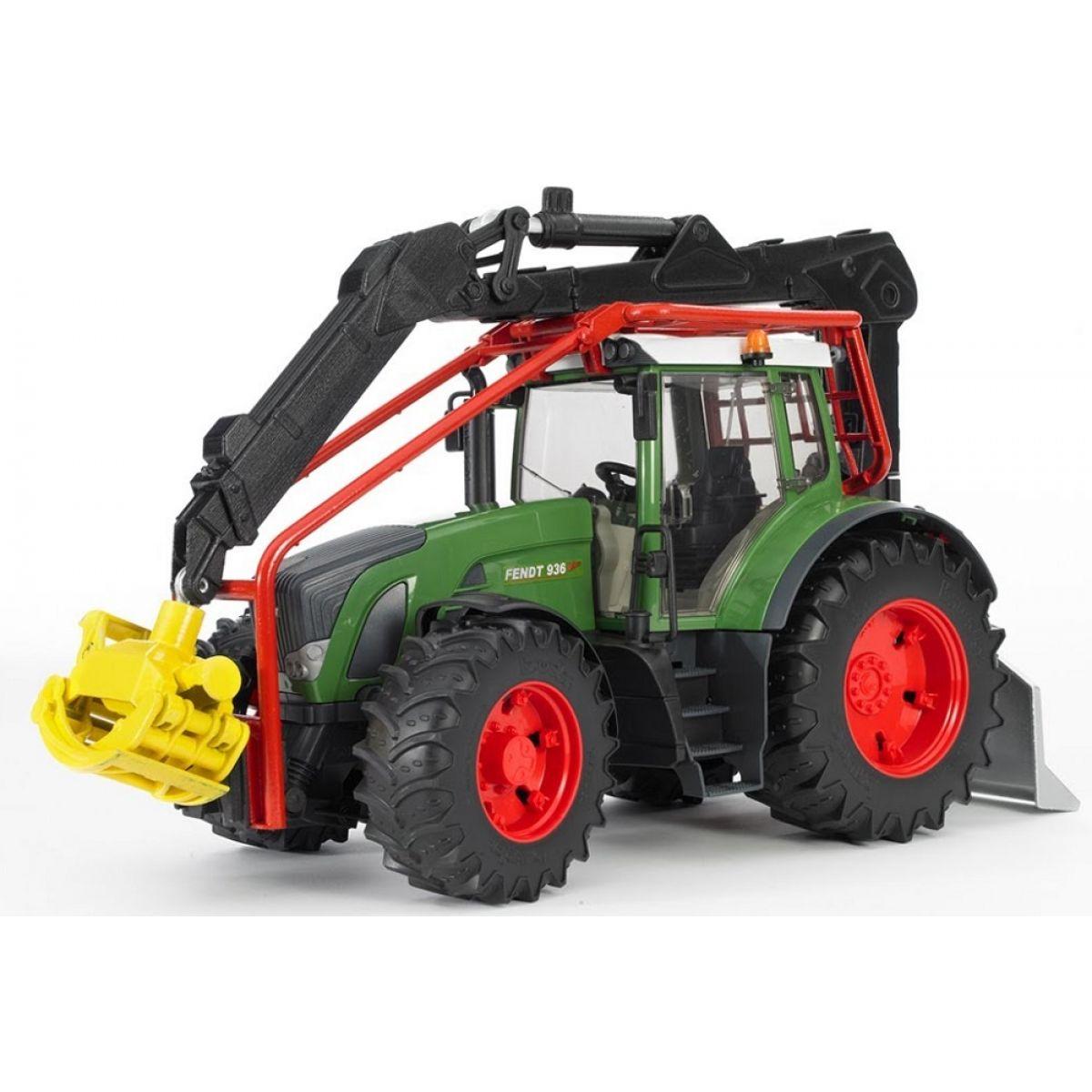 Bruder 03042 Lesní traktor Fendt 936 Vario