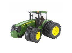 Bruder 03052 Traktor John Deere 7930 + přídavná kola
