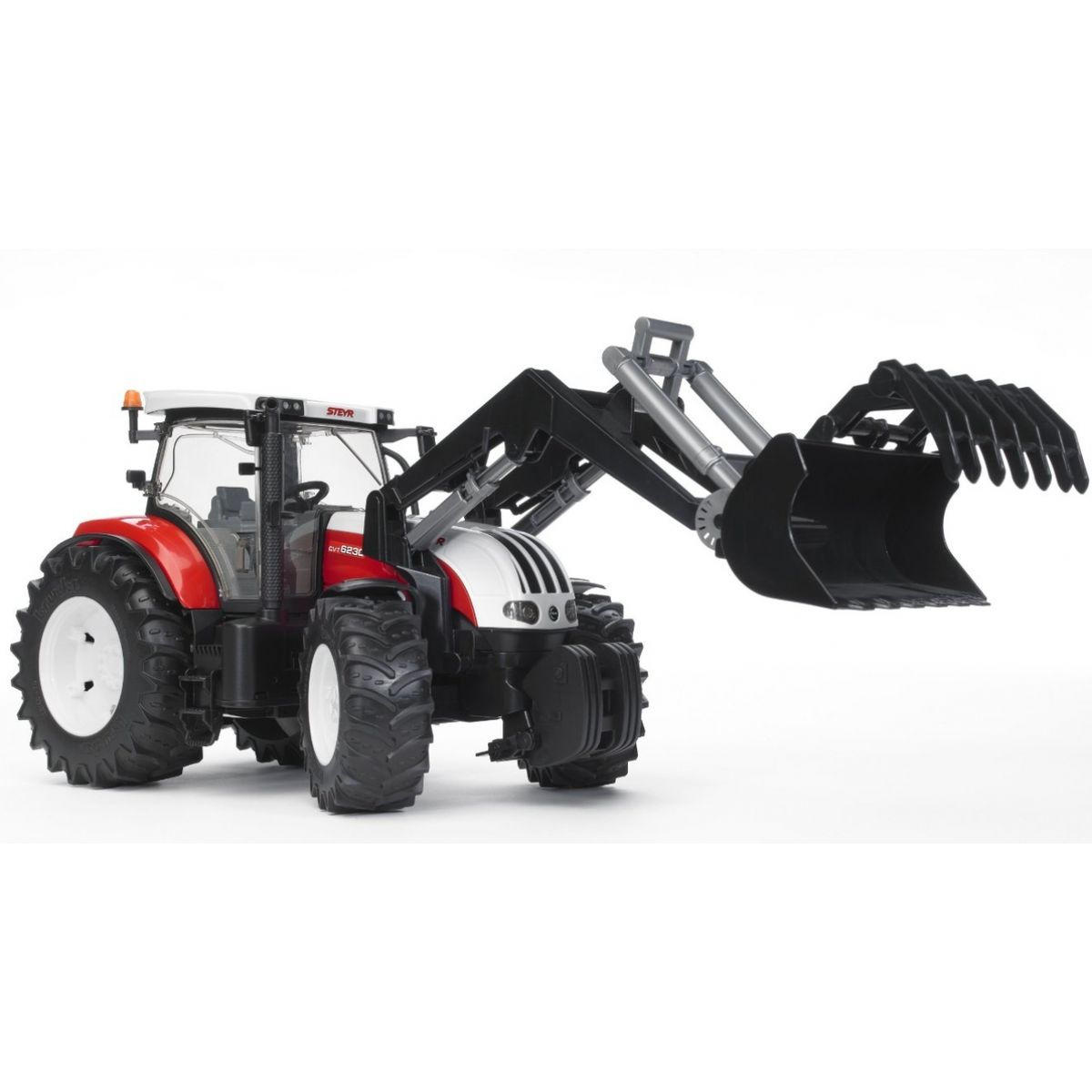 Bruder 03091 Traktor Steyr CVT 6230 s čelním nakladačem
