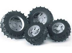 Bruder 03315 Dvojitá kola pro traktory řady 3000 šedá