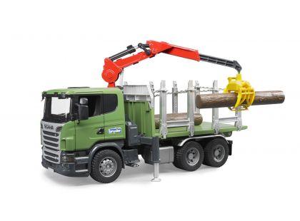 Bruder 03524 Nákladní auto Scania přepravník na dřevo