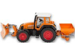 Bruder 1906 Traktor Fendt Favorit 926 Vario s radlicí a posypem oranžový