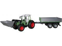 Bruder 1999 Traktor Fendt 209S s valníkem a lžicí