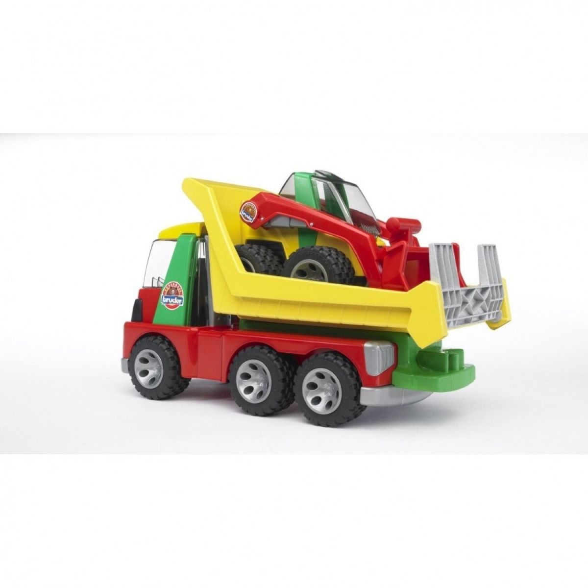 Bruder 20070 Auto nákladní s nakladačem