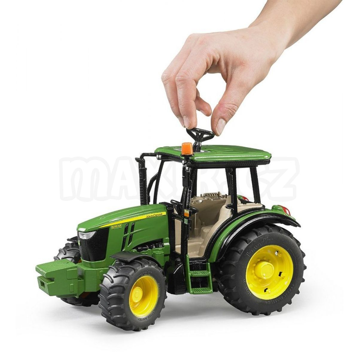 bruder 2106 traktor john deere 5115m max kovy hra ky. Black Bedroom Furniture Sets. Home Design Ideas