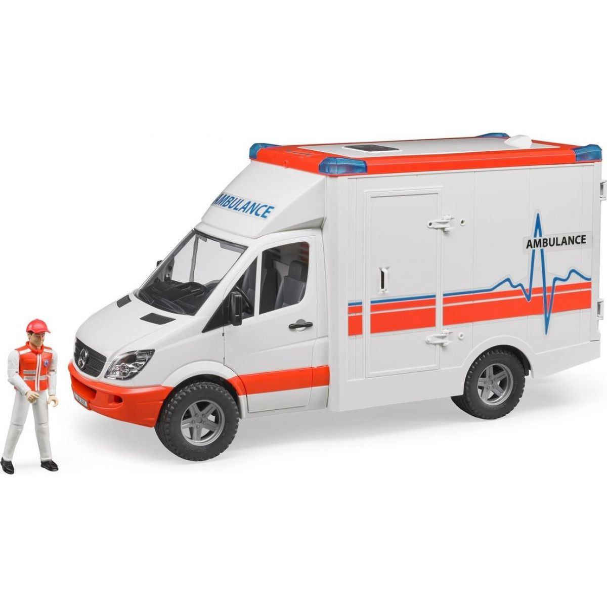 Bruder 2536 Mercedes Sprinter sanitka s řidičem