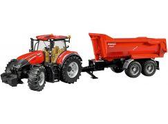 Bruder 3199 Traktor Case IH Optum 300 CVX s návěsem