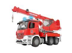 Bruder 3675 Mercedes Benz hasičský autojeřáb - Poškozený obal