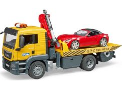 Bruder 3750 MAN TGS odtahová služba + roadster