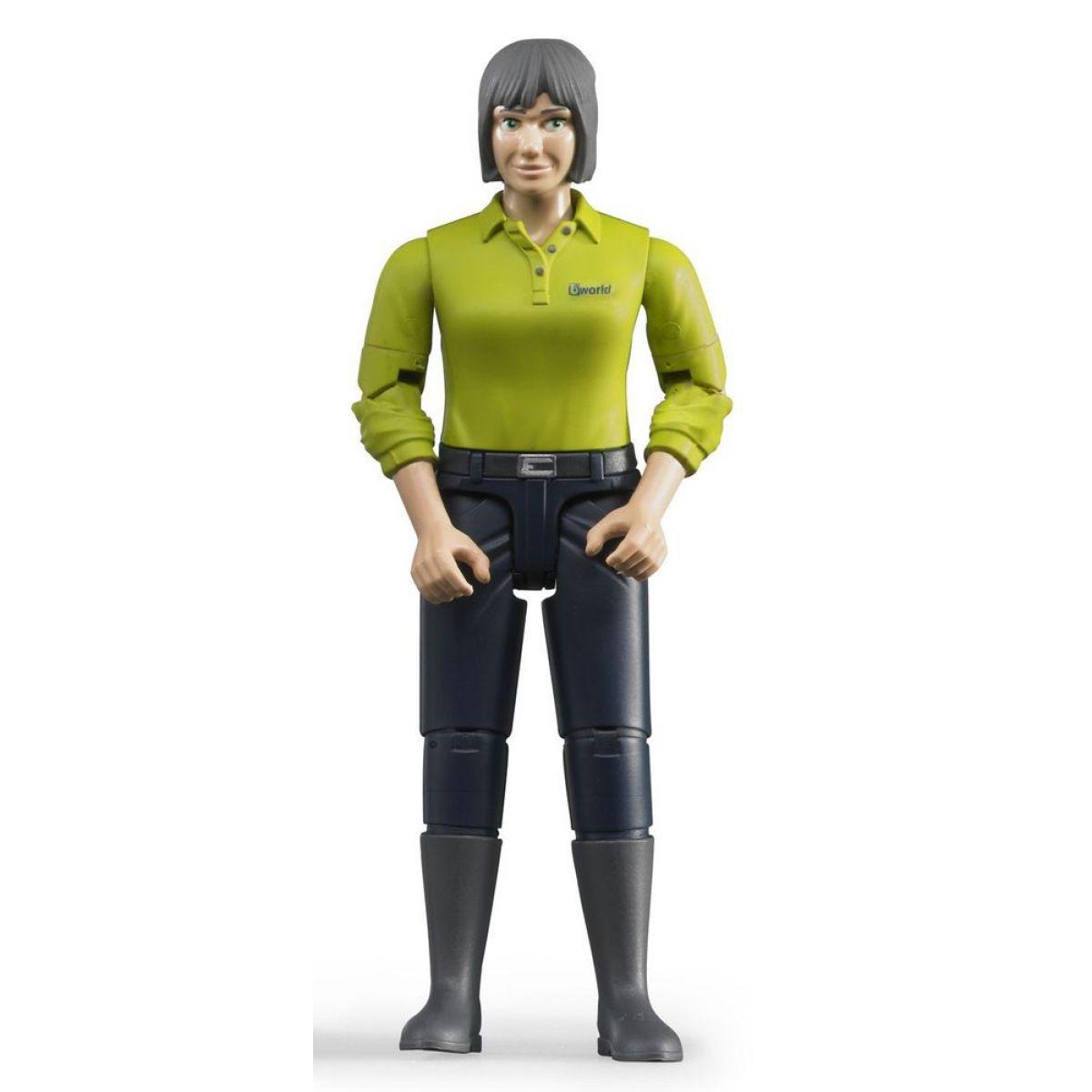 Bruder 60405 Figurka žena tmavé kalhoty