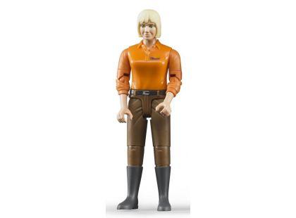 Bruder 60407 Figurka žena hnědé kalhoty