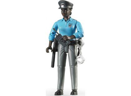 Bruder 60431 Bworld Figurka Policistka černoška