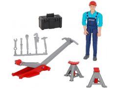 Bruder 62100 Figurka mechanik opravář s příslušenstvím