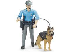 Bruder 62150 Policista se psem