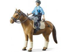 Bruder 62507 Kúň s policistou