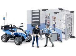 Bruder 62730 Bworld Police stanice