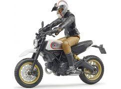 Bruder 63051 Scrambler Ducati Desert Sled s řidičem