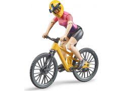 Bruder 63111 Horské kolo s cyklistkou