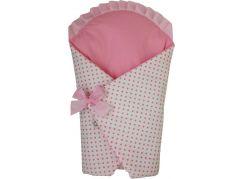 Brum Zavinovačka velká s růžovými puntíky