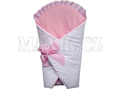 Brum Zavinovačka malá s růžovými puntíky