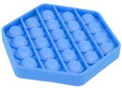 Bubble Pop It Praskající bubliny antistresová spol. hra modrý