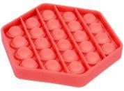 Bubble Pop It Praskající bubliny antistresová spol. hra červený