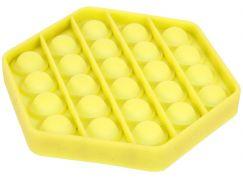 Bubble Pop It Praskající bubliny antistresová spol. hra žlutý