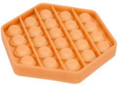 Bubble Pop It Praskající bubliny antistresová spol. hra oranžový