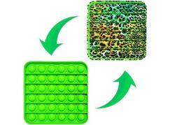 Bubble pops čtverec zelený