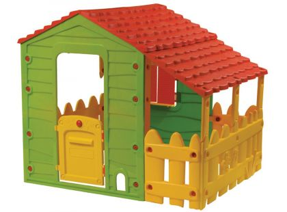 Buddy Toys Domeček Farm s verandou