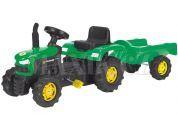 Buddy Toys Šlapací traktor s odpojitelným vozíkem