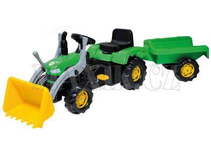 Buddy Toys Šlapací traktor se lžící