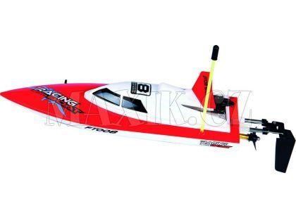 Buddy Toys RC Loď 280 červená