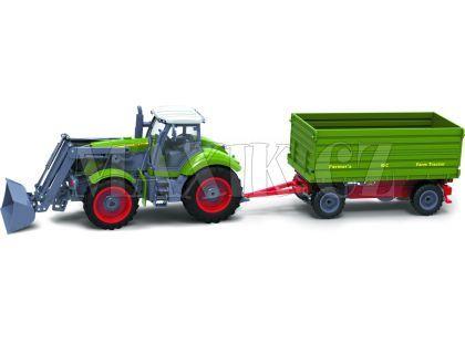 Buddy Toys RC Traktor se sklápěcím přívěsem