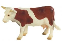 Bullyland 2062610 Kráva Fanny hnědo-bílá