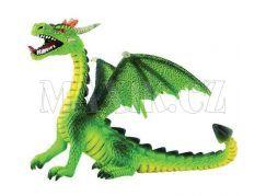 Bullyland 75593 Drak sedící zelený