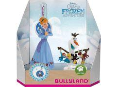 Bullyland Disney Ledové králoství set 2 ks Anna a Olaf + přívěšek